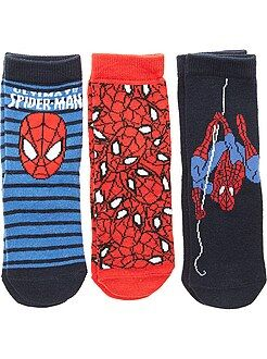Juego de 3 pares de calcetines 'Spiderman' - Kiabi
