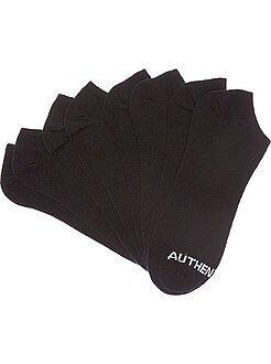 Deporte - Juego de 4 pares de calcetines invisibles