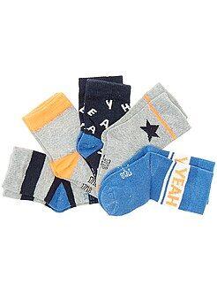 Niño 0-36 meses Juego de 5 pares de calcetines