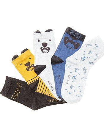 Juego de 5 pares de calcetines de fantasía - Kiabi