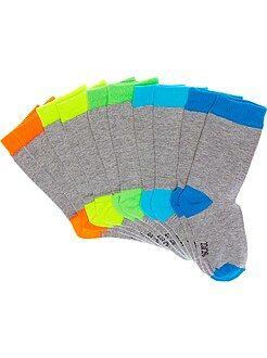 Niño 0-24 meses Juego de 5 pares de calcetines