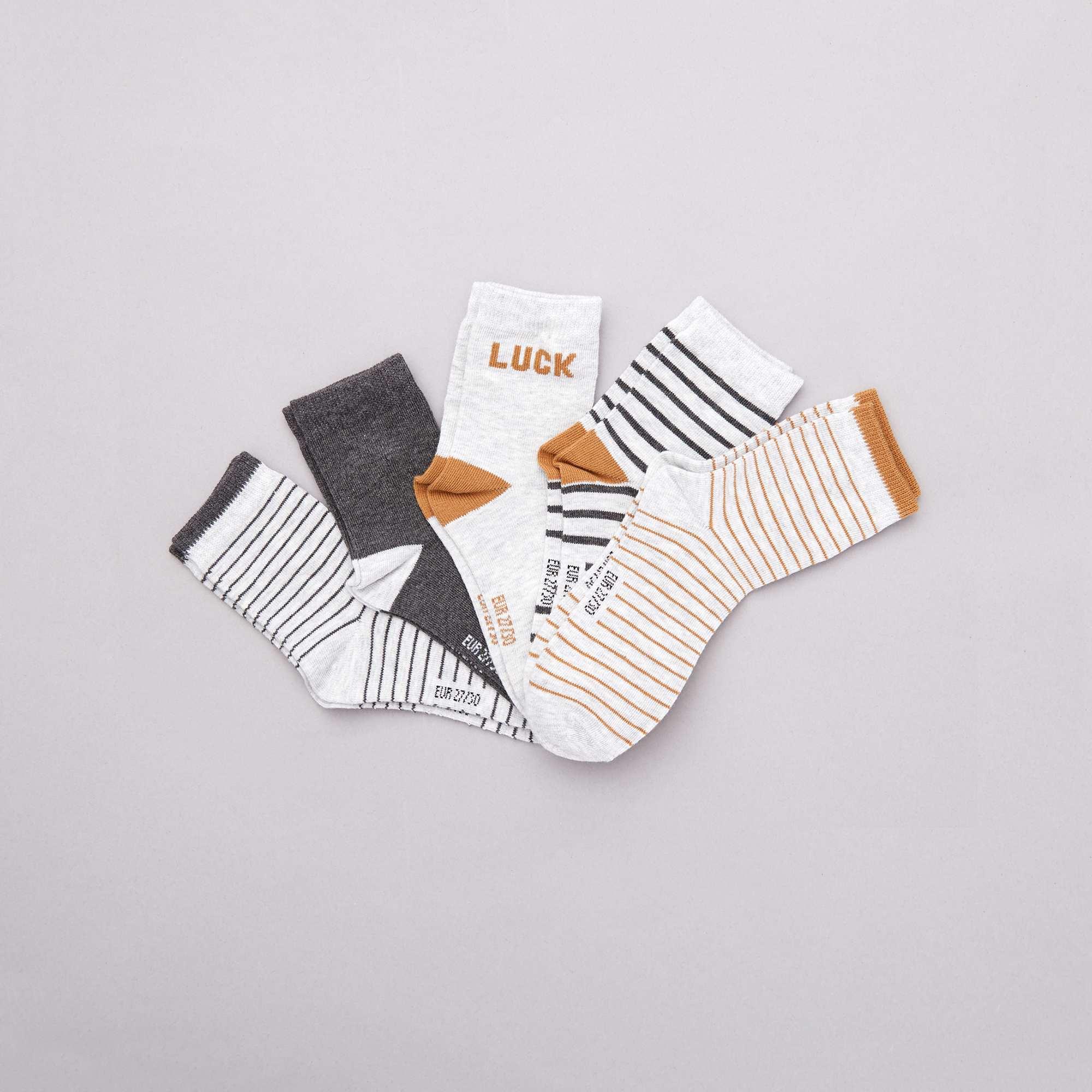 57e751f2 Juego de 5 pares de calcetines
