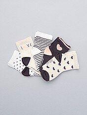 Juego de 5 pares de calcetines