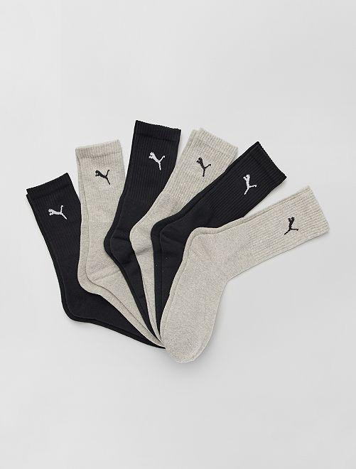 Juego de 6 pares de calcetines 'Puma'                                                     BEIGE