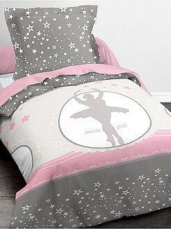 Ropa de cama infantil - Juego de cama 'bailarina estrella' - Kiabi