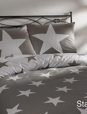 Juego de cama con estampado de estrellas - Kiabi