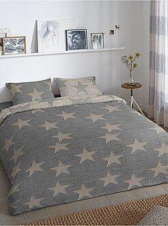 Ropa de cama infantil - Juego de cama con estampado de 'estrellas' - Kiabi