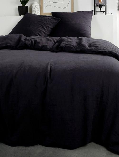 Juego de cama de gasa de algodón                                                     GRIS