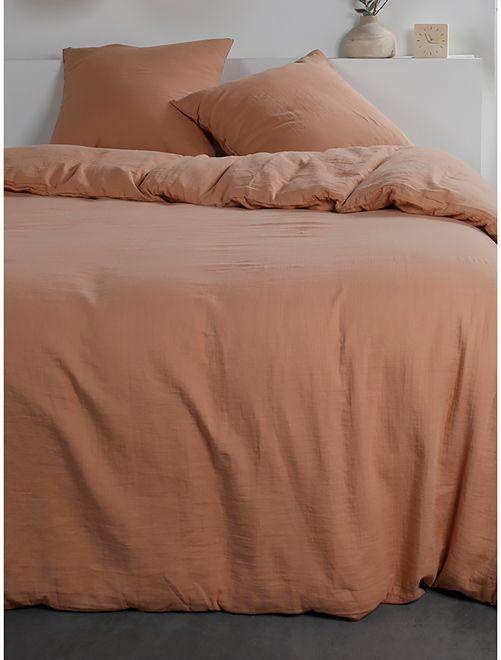 Juego de cama de gasa de algodón                                                     NARANJA