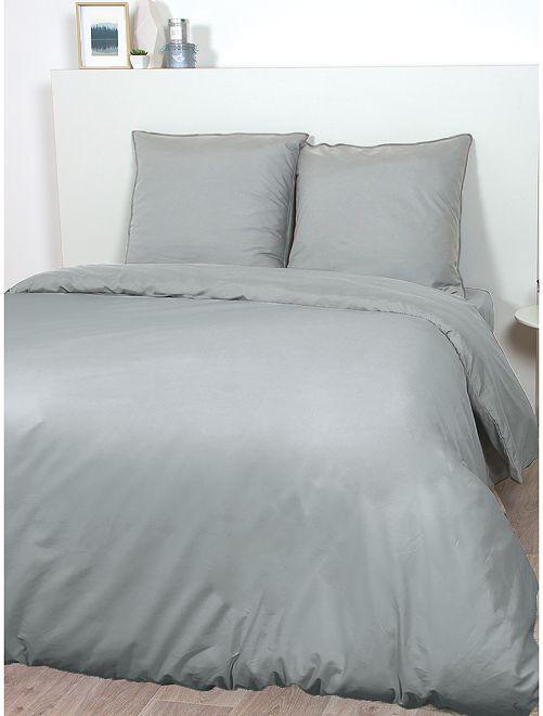 Juego de cama de raso de algodón                                                                                         GRIS