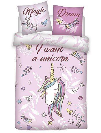 Juego de cama de 'unicornio' - Kiabi