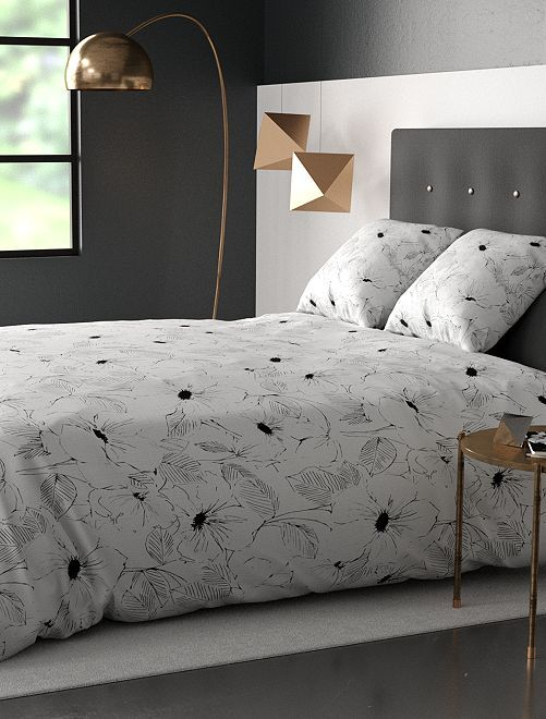 Juego de cama doble                             blanco