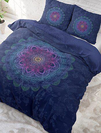 Juego de cama doble con estampado 'mandalas' - Kiabi
