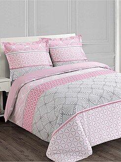 Juego de cama doble con motivos geométricos - Kiabi