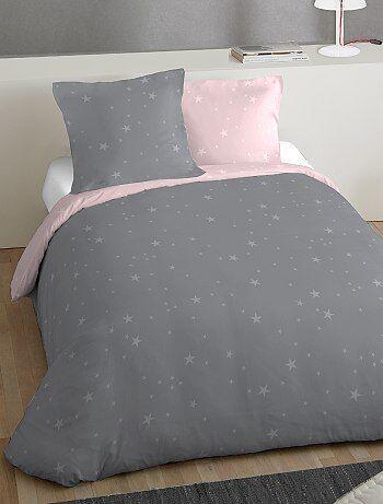 Juego de cama doble estampado 'estrellas' - Kiabi