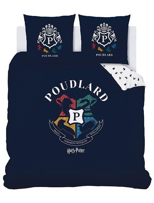 Juego de cama doble 'Harry Potter'                             azul marino