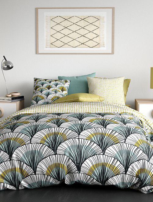 Juego de cama doble                             verde