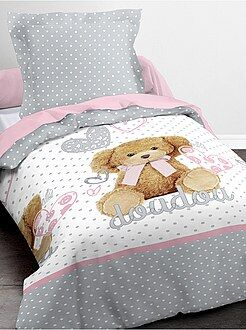 Ropa de cama infantil - Juego de cama 'Doudou'
