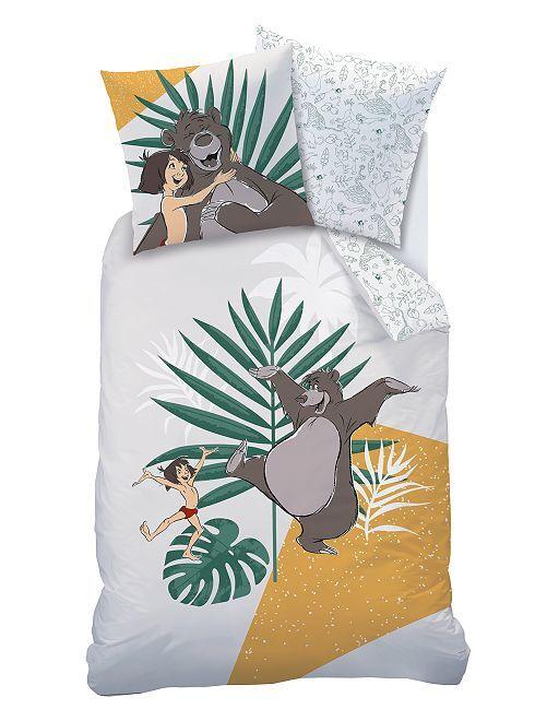 Juego de cama 'El libro de la selva' 'Disney'                             blanco
