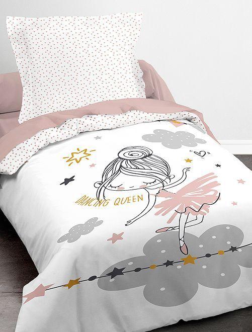 Juego de cama individual                             blanco