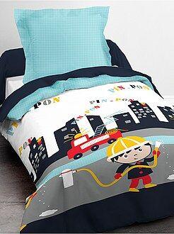 Ropa de cama infantil - Juego de cama individual 'bombero' - Kiabi