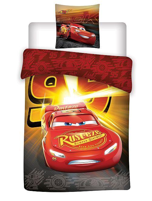 Juego de cama individual 'Cars' de 'Disney'                             rojo
