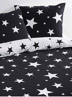 Juego de cama individual con estampado de 'estrellas'