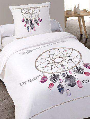 Juego de cama individual de algodón - Kiabi