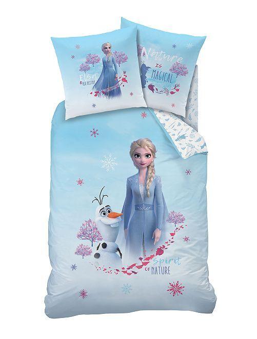 Juego de cama individual de 'Frozen 2'                             azul