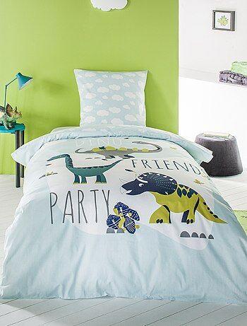 Juego de cama individual 'dinosaurio' - Kiabi