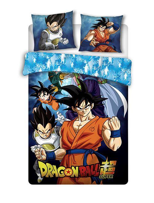 Juego de cama individual 'Dragon Ball'                             azul