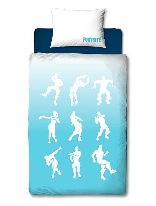 Juego de cama individual 'Fortnite'                             azul/blanco Hogar