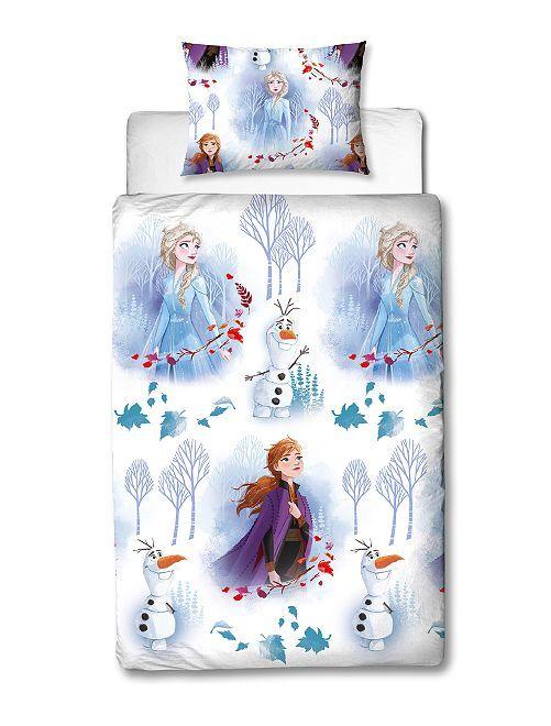 Juego de cama individual 'Frozen'                             blanco