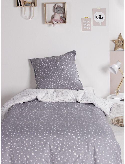 Juego de cama individual                                                                 GRIS