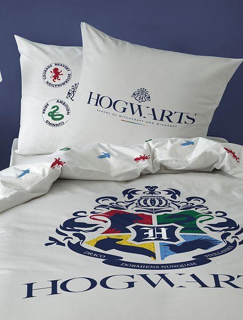 Juego de cama individual 'Harry Potter'                             blanco
