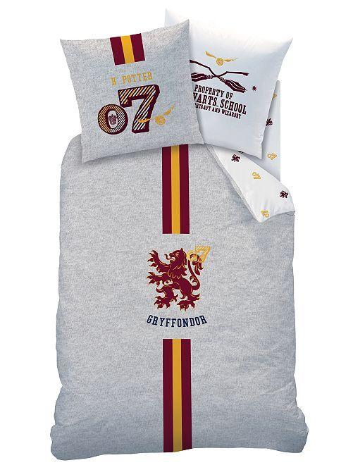 Juego de cama individual 'Harry Potter'                             gris chiné