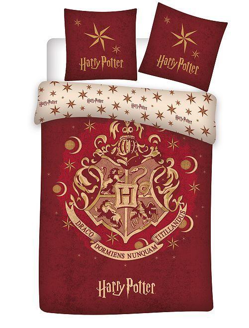 Juego de cama individual 'Harry Potter'                             ROJO Hogar