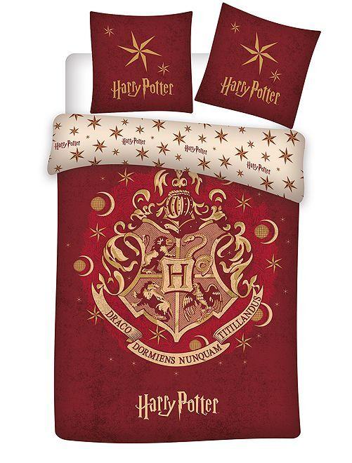 Juego de cama individual 'Harry Potter'                             ROJO