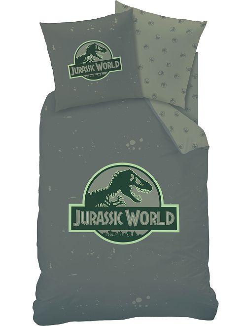 Juego de cama individual 'Jurassic World'                             KAKI