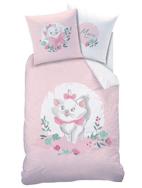Juego de cama individual 'Marie'                             rosa