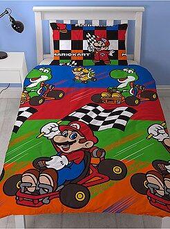 Juego de cama individual 'Mario Kart'
