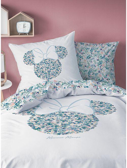 Juego de cama individual 'Minnie' de 'Disney'                             blanco