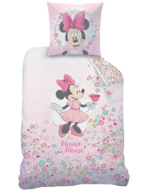 Juego de cama individual 'Minnie'                             rosa