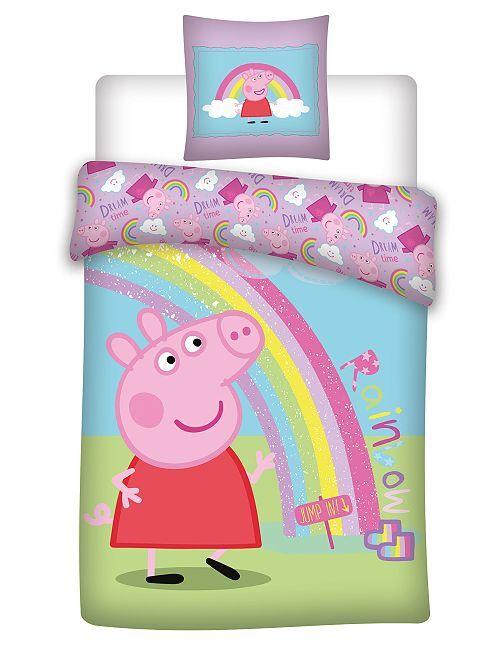 Juego de cama individual 'Peppa Pig'                             azul