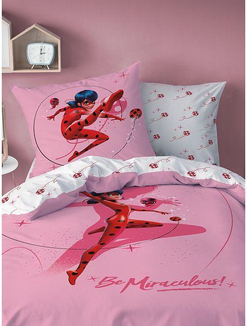 Juego de cama individual 'Prodigiosa'                             rosa