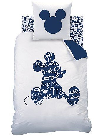 Juego de cama individual reversible 'Mickey' - Kiabi