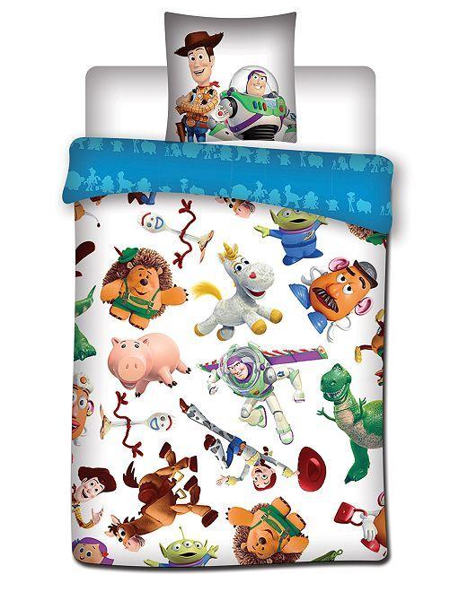 Juego de cama individual 'Toy Story'                             blanco