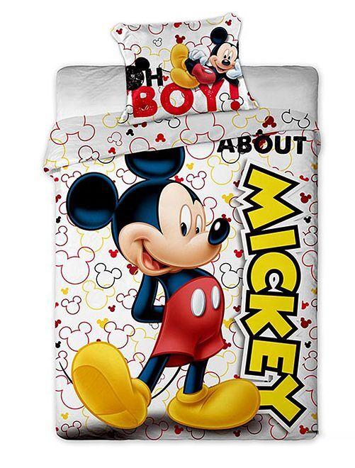 Juego de cama 'Mickey Mouse'                             blanco