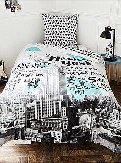 Ropa de cama infantil - Juego de cama 'Nueva York' - Kiabi