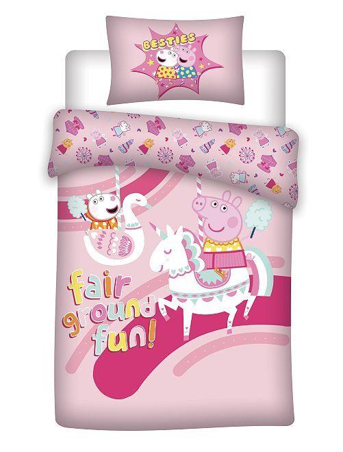 Juego de cama 'Peppa Pig'                             rosa